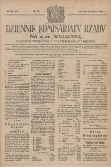 Dziennik Komisarjatu Rządu na M. St. Warszawę.R.4, № 278 (10 grudnia 1923) = № 902