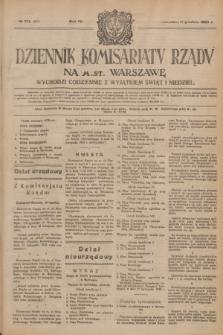 Dziennik Komisarjatu Rządu na M. St. Warszawę.R.4, № 279 (11 grudnia 1923) = № 903