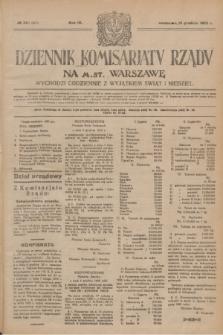 Dziennik Komisarjatu Rządu na M. St. Warszawę.R.4, № 281 (13 grudnia 1923) = № 905