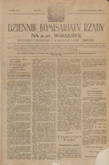 Dziennik Komisarjatu Rządu na M. St. Warszawę.R.4, № 282 (14 grudnia 1923) = № 906