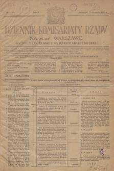 Dziennik Komisarjatu Rządu na M. St. Warszawę.R.5, № 1 (2 stycznia 1924) = № 918