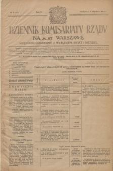 Dziennik Komisarjatu Rządu na M. St. Warszawę.R.5, № 2 (3 stycznia 1924) = № 919