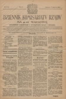 Dziennik Komisarjatu Rządu na M. St. Warszawę.R.5, nr 7 (9 stycznia 1924) = nr