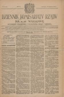 Dziennik Komisarjatu Rządu na M. St. Warszawę.R.5, № 8 (10 stycznia 1924) = № 925