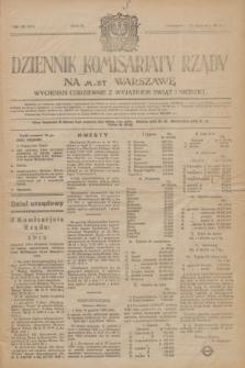 Dziennik Komisarjatu Rządu na M. St. Warszawę.R.5, № 10 (12 stycznia 1924) = № 927