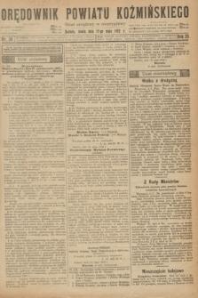 Orędownik Powiatu Koźmińskiego. R.35, nr 39 (17 maja 1922)