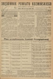 Orędownik Powiatu Koźmińskiego. R.35, nr 50 (24 czerwca 1922)