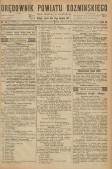 Orędownik Powiatu Koźmińskiego. R.35, nr 64 (12 sierpnia 1922)