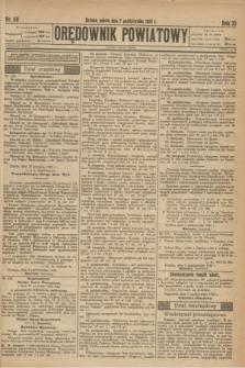 Orędownik Powiatowy. R.35, nr 80 (7 października 1922)