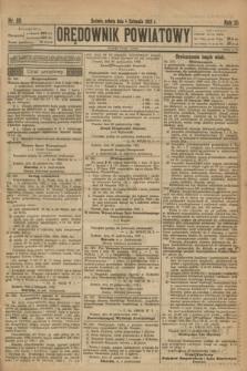 Orędownik Powiatowy. R.35, nr 88 (4 listopada 1922)