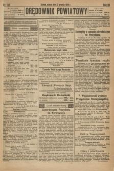 Orędownik Powiatowy. R.35, nr 102 (23 grudnia 1922)