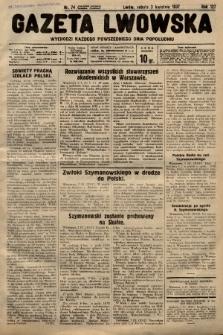 Gazeta Lwowska. 1937, nr74
