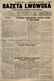Gazeta Lwowska. 1937, nr81