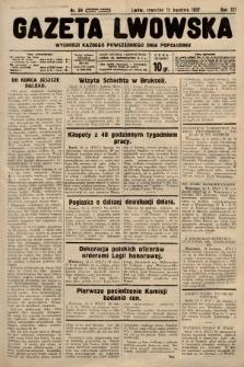 Gazeta Lwowska. 1937, nr84
