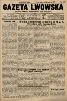 Gazeta Lwowska. 1937, nr90