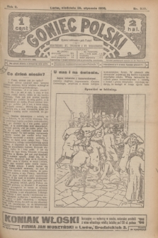 Goniec Polski.R.2, nr 309 (26 stycznia 1908)