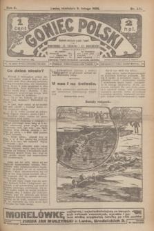Goniec Polski.R.2, nr 321 (9 lutego 1908)