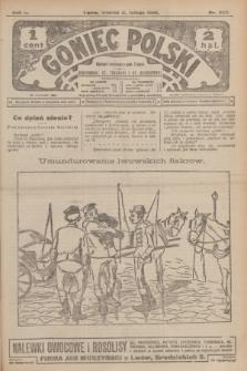 Goniec Polski.R.2, nr 322 (11 lutego 1908)