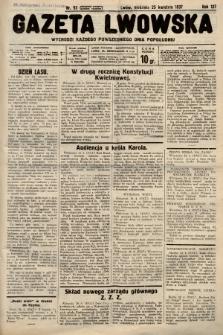 Gazeta Lwowska. 1937, nr93