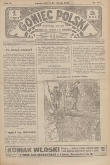 Goniec Polski.R.2, nr 332 (22 lutego 1908)