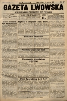 Gazeta Lwowska. 1937, nr94