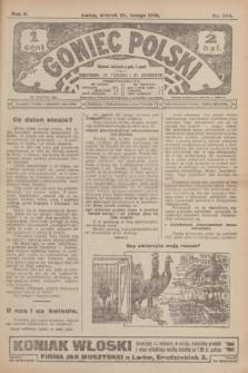 Goniec Polski.R.2, nr 334 (25 lutego 1908)