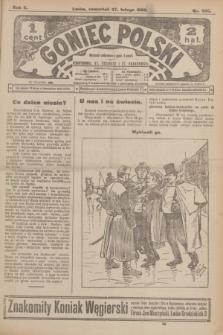 Goniec Polski.R.2, nr 336 (27 lutego 1908)