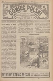 Goniec Polski.R.2, nr 338 (29 lutego 1908)