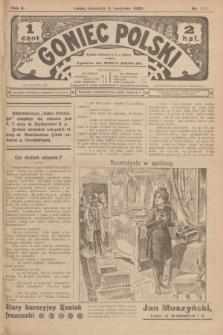 Goniec Polski.R.2, nr 371 (9 kwietnia 1908)