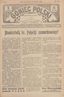 Goniec Polski.R.2, nr 374 (13 kwietnia 1908)