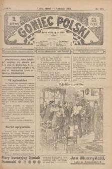 Goniec Polski.R.2, nr 375 (14 kwietnia 1908)