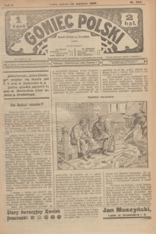 Goniec Polski.R.2, nr 384 (25 kwietnia 1908)