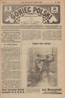 Goniec Polski.R.2, nr 388 (30 kwietnia 1908)