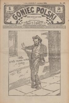 Goniec Polski.R.2, nr 419 (7 czerwca 1908)