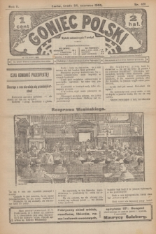Goniec Polski.R.2, nr 431 (24 czerwca 1908)