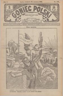 Goniec Polski.R.2, nr 435 (28 czerwca 1908)