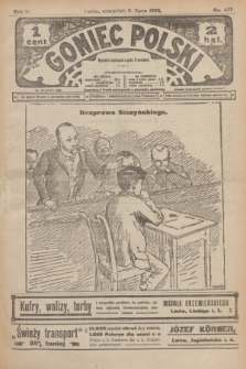 Goniec Polski.R.2, nr 437 (2 lipca 1908)
