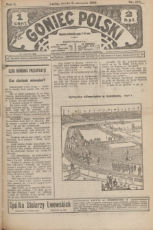 Goniec Polski.R.2, nr 467 (5 sierpnia 1908)