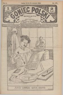 Goniec Polski.R.2, nr 478 (19 sierpnia 1908)