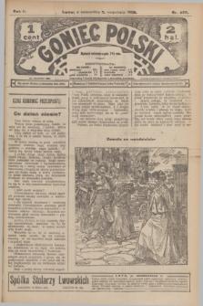 Goniec Polski.R.2, nr 490 (3 września 1908)