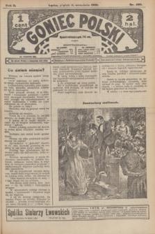 Goniec Polski.R.2, nr 496 (11 wrzesnia 1908)