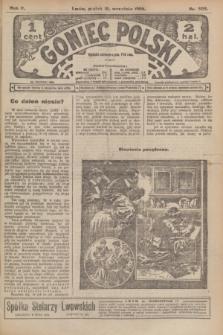 Goniec Polski.R.2, nr 502 (18 września 1908)