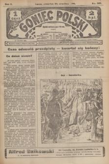 Goniec Polski.R.2, nr 507 (24 września 1908)