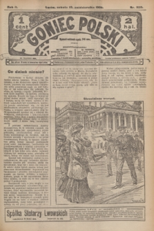 Goniec Polski.R.2, nr 520 (10 października 1908)