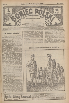 Goniec Polski.R.2, nr 544 (7 listopada 1908)