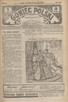 Goniec Polski.R.2, nr 545 (8 listopada 1908)