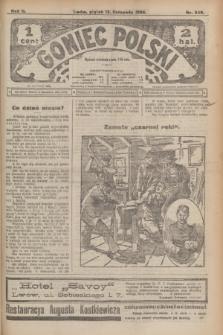 Goniec Polski.R.2, nr 549 (13 listopada 1908)