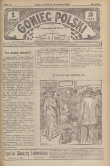 Goniec Polski.R.2, nr 553 (18 listopada 1908)
