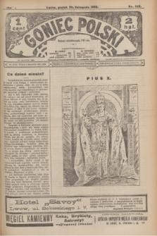 Goniec Polski.R.2, nr 555 (20 listopada 1908)