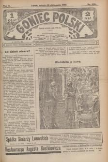 Goniec Polski.R.2, nr 556 (21 listopada 1908)